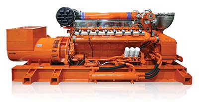 Guascor HGM gas engines