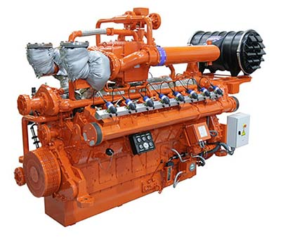 Guascor SFGM gas engine