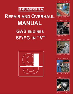 Repair and Overhaul Manual for Guascor Gas Engines